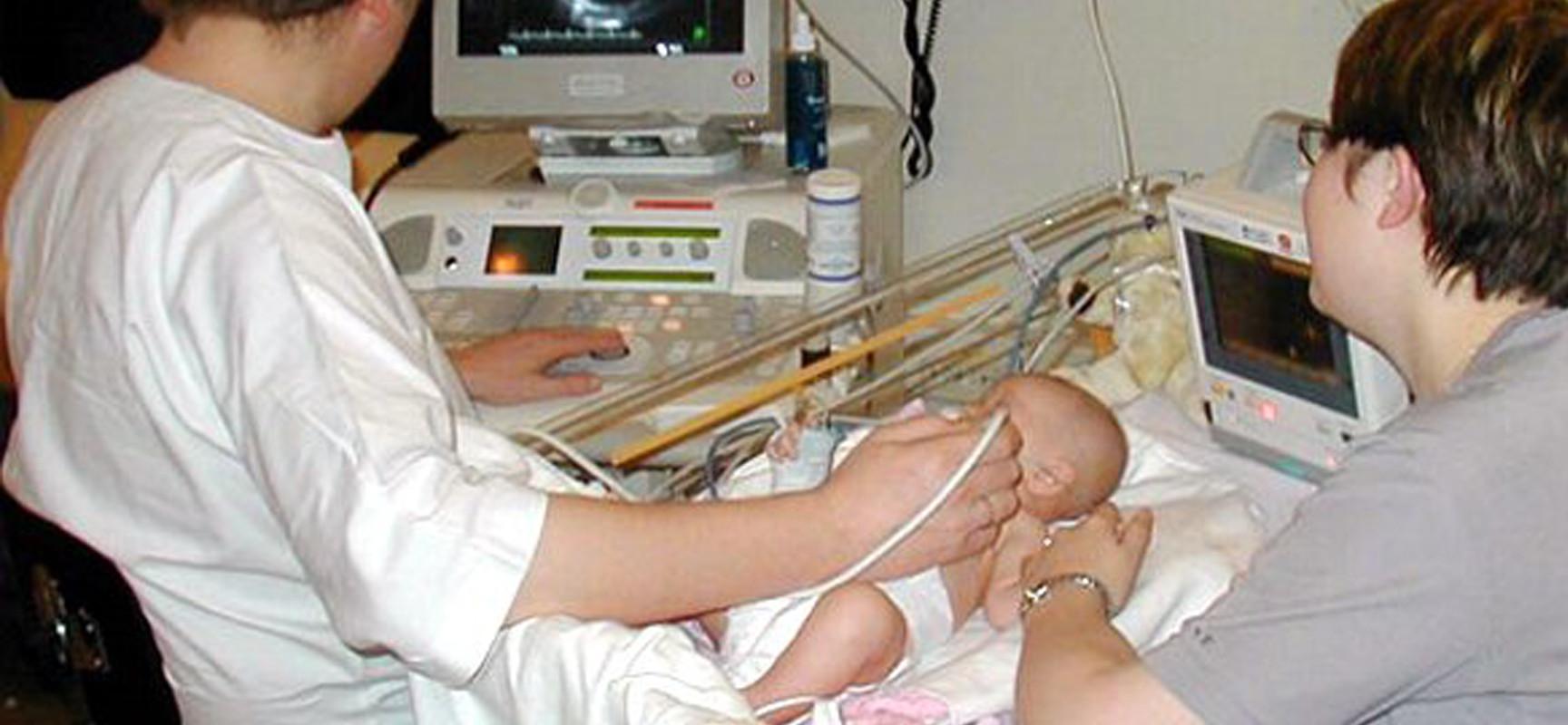 Ультразвуковое исследование желудка новорожденного