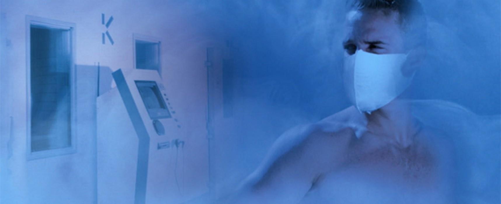 Криотерапия — когда полезен холод?