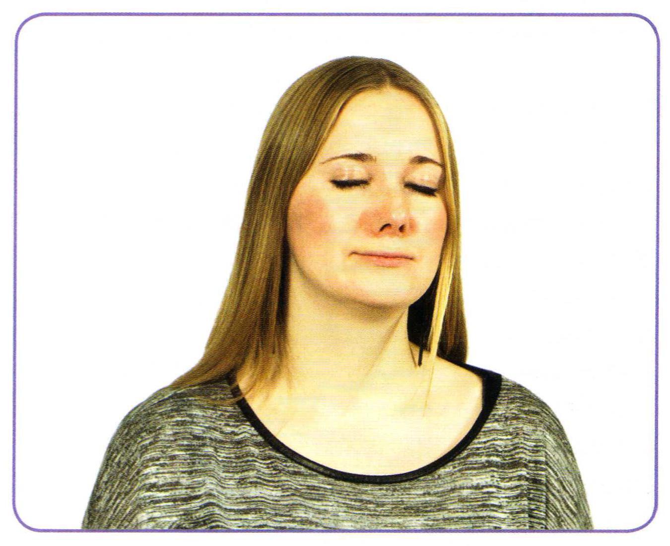 Мимическая гимнастика при головных болях