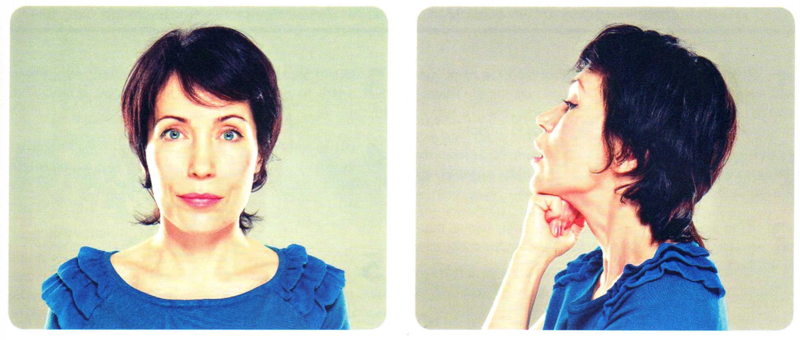 Упражнения на расслабление лица