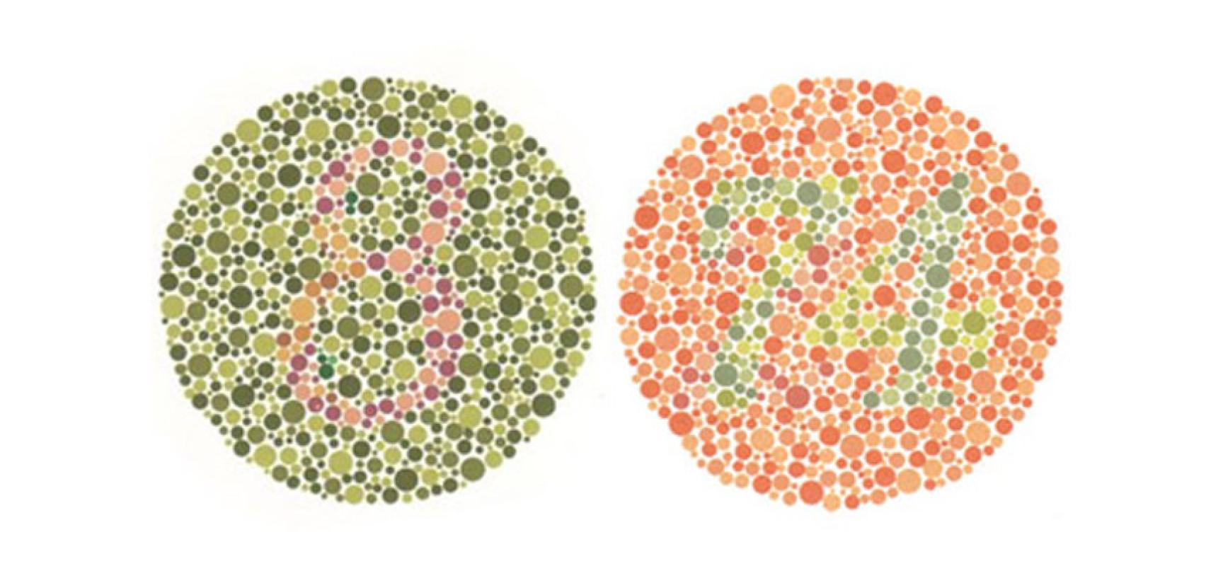 Слепота Цветовая фото