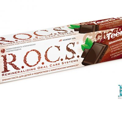 R.O.C.S. создал зубную пасту со вкусом шоколадного мусса!